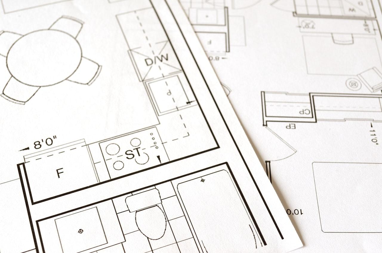 blueprint of an apartment